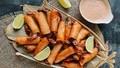 Tôm cuộn dừa giòn tan hấp dẫn