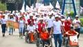"""Frieslandcampina Việt Nam đồng hành cùng chương trình đi bộ """"vì nạn nhân chất độc da cam & người khuyết tật """" năm 2017"""