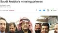 Đằng sau những vụ mất tích bí ẩn của các hoàng tử Ả rập Saudi