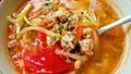 Đánh bay nồi cơm với canh trứng nấu thịt viên nóng sốt