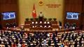 Quốc hội thông qua các Nghị quyết, dự án luật quan trọng