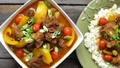 Bò hầm cà ri và nước cốt dừa