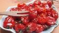 Mứt cà chua bi dẻo thơm chuẩn bị đón Tết