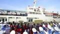 4 tàu vận chuyển quà tết cho quân, dân huyện đảo Trường Sa