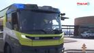 Xe cứu hỏa chạy điện đầu tiên trên thế giới