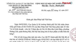 Siêu Thị T –Mart bị Cục QLTT Hà Nội phạt vì bán thịt lợn ngoại nhập lậu