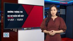 Bản tin tài chính: Những thông tin và con số nổi bật trong tuần từ 11/01 - 15/01