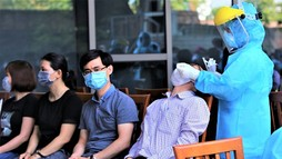 Giám đốc sở là F1, Đà Nẵng xét nghiệm gần 1.400 cán bộ tại Trung tâm hành chính