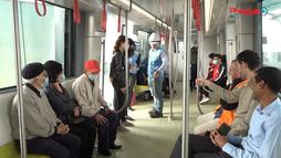 Khám phá bên trong đoàn tàu metro Nhổn - Ga Hà Nội