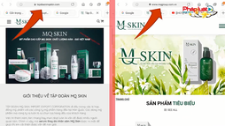 """Mỹ phẩm MQ SKIN: Quảng cáo kiểu """"lập lờ"""", đánh lừa người tiêu dùng"""