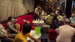Cơ sở Karaoke tạo hiện trường giả khi bị phát hiện vi phạm phòng chống dịch Covid-19