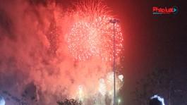 Phú Thọ: Bắn pháo hoa dịp giỗ tổ Hùng Vương 2021