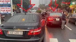 Hà Nội: Tạm giữ hai xe cùng biển số
