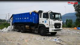 Bắt giữ xe tải đổ chất thải sinh hoạt trái phép tại Bà Rịa – Vũng Tàu