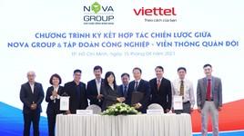 Novagroup và Viettel ký kết hợp tác chiến lược