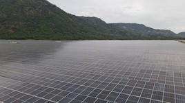 Hoàn thành nhà máy điện mặt trời Sao Mai - An Giang