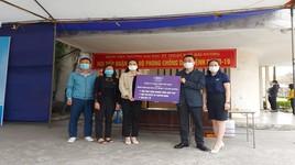 Ford Việt Nam hỗ trợ xe phân luồng bệnh nhân và F1 tại Hải Dương