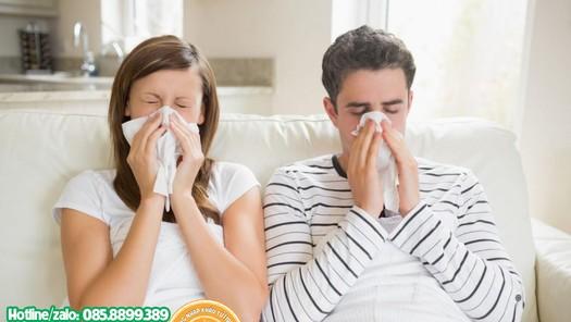 Giải pháp cho người viêm mũi dị ứng, viêm xoang hắt hơi liên tục