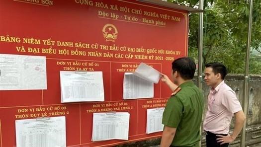 Đơn thư liên quan đến bầu cử giải quyết theo luật nào?
