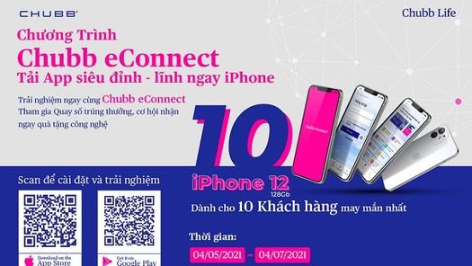 """Cơ hội """"lĩnh ngay iPhone"""" từ chương trình khuyến mại của Chubb Life Việt Nam"""