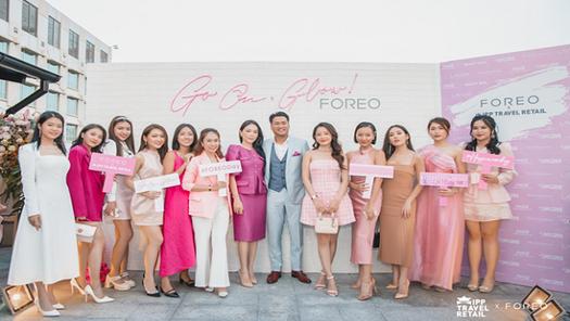 Phillip Nguyễn công bố sự hợp tác giữa Foreo và IPP Travel Retail