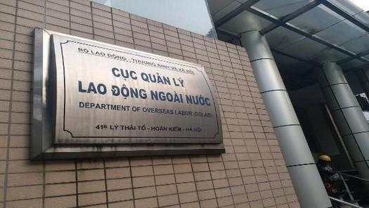 Lộ diện nhiều sai phạm của Cục Quản lý Lao động nước ngoài khi đưa người đi xuất khẩu lao động