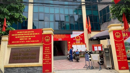 """Thông tin UBND phường Khương Trung """"làm ngơ"""" trước công trình vi phạm là không đúng"""
