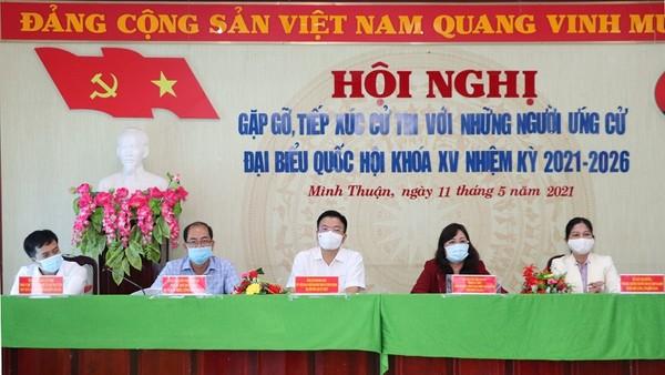 Bộ trưởng Lê Thành Long: mong tiếp tục lắng nghe ý kiến, nguyện vọng của cử tri
