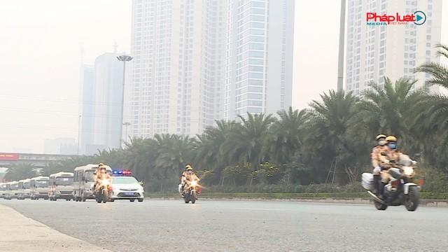 Công an TP Hà Nội: Phân luồng giao thông phục vụ Đại hội Đảng