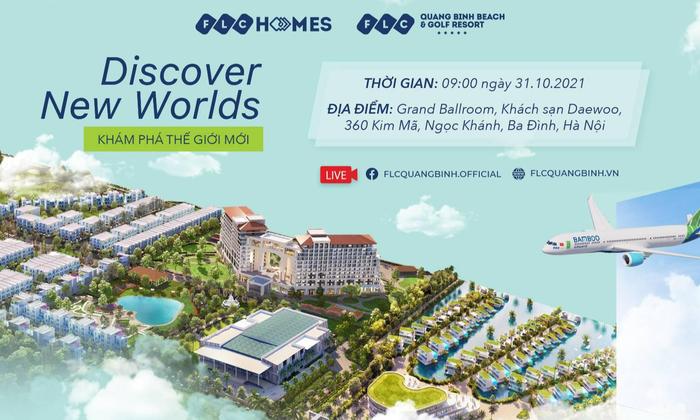 """""""Bùng nổ' cảm xúc với sự kiện """"Discover New Worlds"""" tại FLC Quảng Bình"""