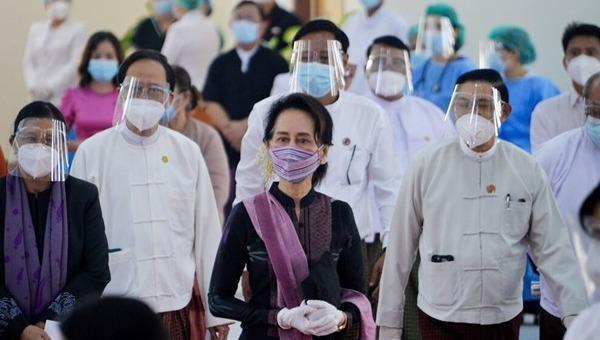Myamar bất ngờ có chính biến, nhà lãnh đạo Aung San Suu Kyi và nhiều quan chức bị bắt