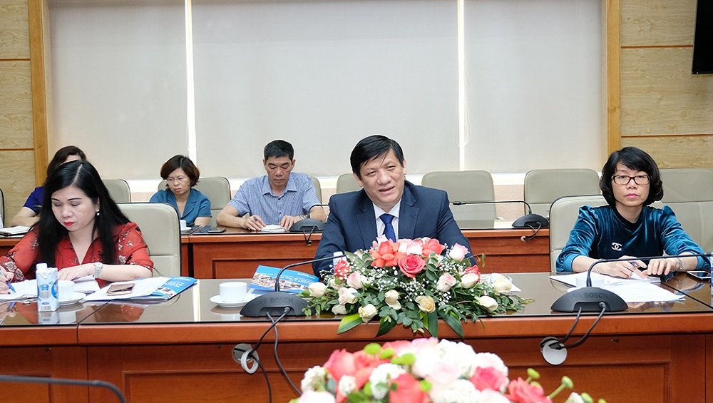 Bộ Y tế làm việc với các tổ chức quốc tế, EU, Hoa Kỳ, Nhật Bản về tiêm chủng vắc xin phòng COVID-19 tại Việt Nam