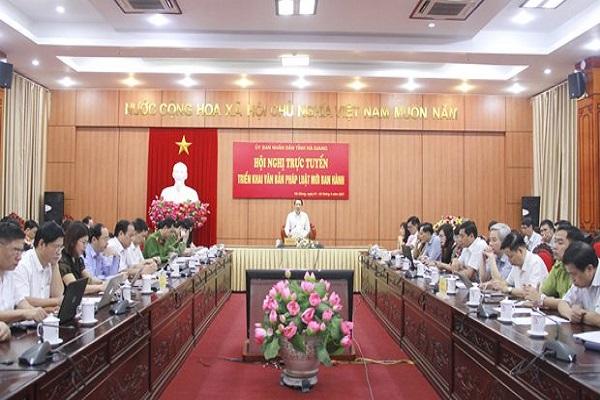 Hà Giang nâng cao chất lượng công tác xây dựng văn bản quy phạm pháp luật
