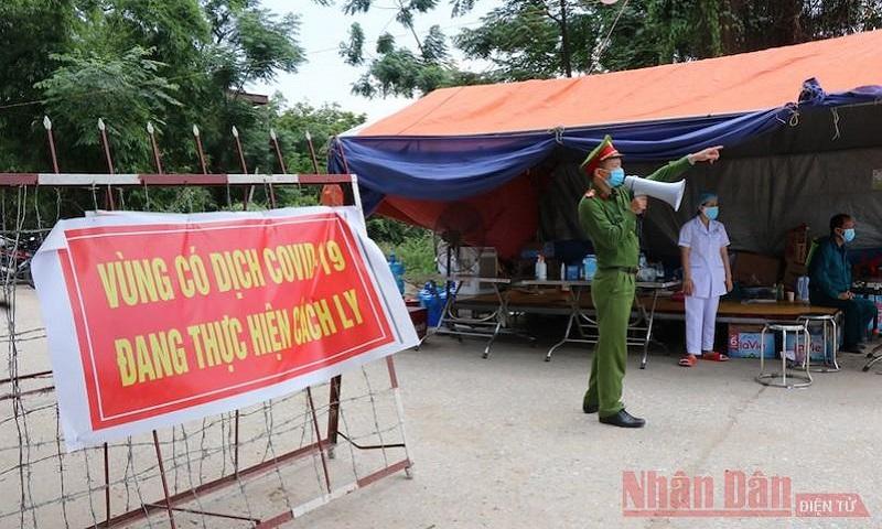 Hơn 3.000 người từ các KCN Bắc Giang về Bắc Ninh