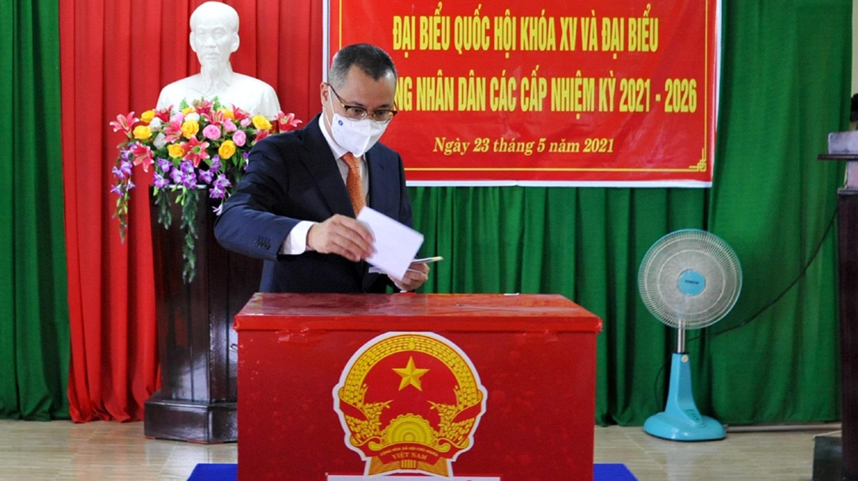 Hơn 719.000 cử tri Phú Yên đi bỏ phiếu bầu cử