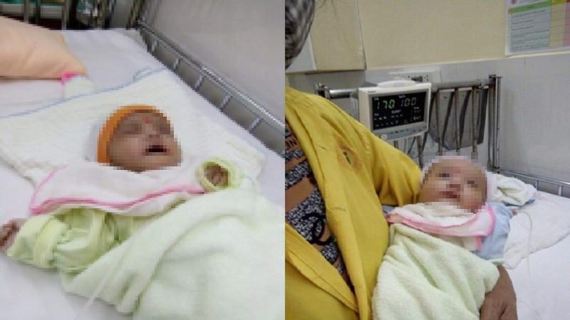 Phát hiện hai trẻ sơ sinh bị bỏ rơi trước cổng chùa Thủ Dương