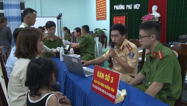 Thừa Thiên Huế tạm thời dừng cấp căn cước công dân