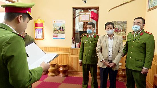 Bắt tạm giam nguyên phó giám đốc Sở Y tế Sơn La