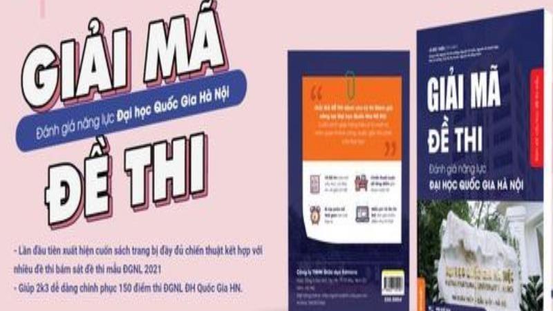 Lan truyền sách luyện thi đánh giá năng lực trên mạng xã hội, Đại học Quốc gia Hà Nội nói gì?