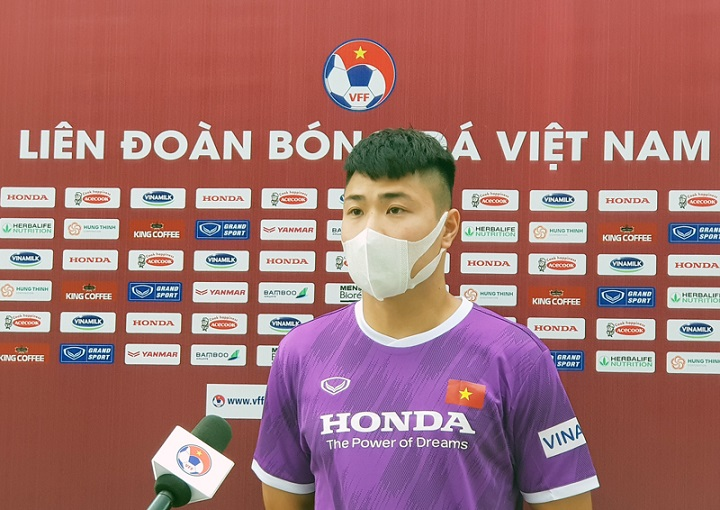 Áp lực của Đặng Văn Tới khi đeo băng đội trưởng U22 Việt Nam