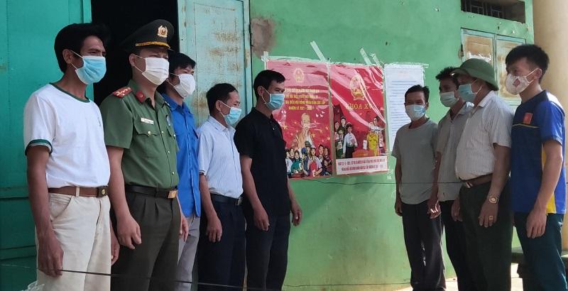 Sơn La tăng cường gần 200 cán bộ, chiến sỹ bảo đảm an toàn bầu cử ở cơ sở