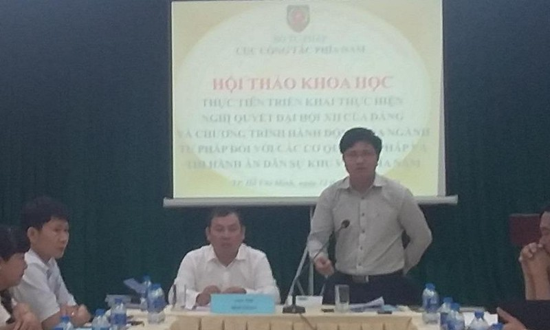 Hội thảo khoa học thực tiễn triển khai thực hiện Nghị quyết  Đại hội XII của Đảng