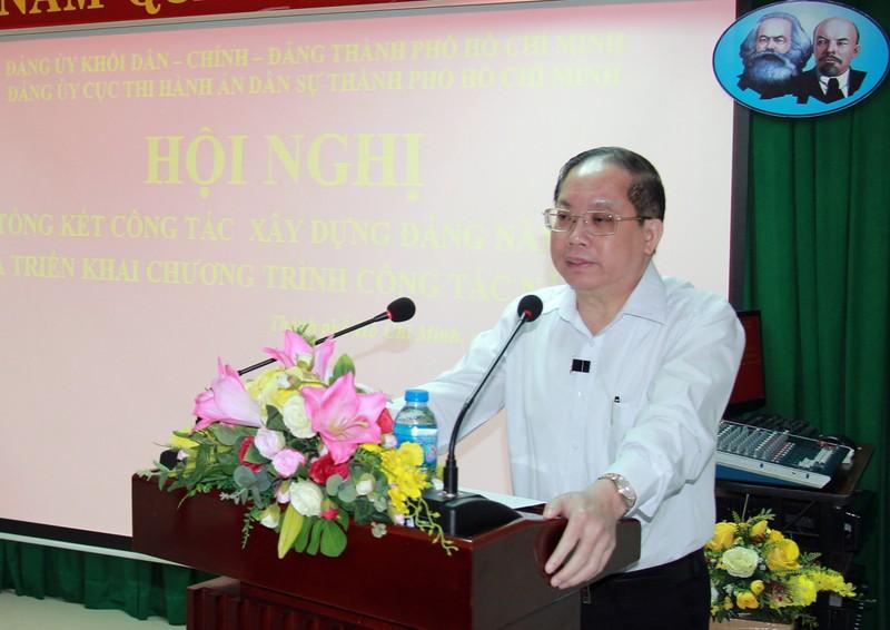 Đảng bộ Cục THADS TP. HCM tăng cường giáo dục chính trị tư tưởng cho Đảng viên