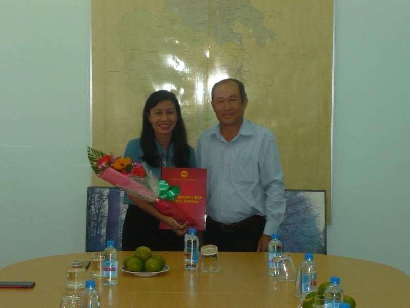 Khánh Hòa trao quyết định bổ nhiệm Giám đốc Sở Tư pháp