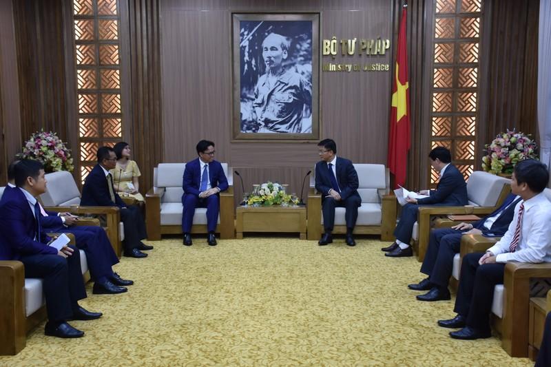 Tiếp tục hợp tác để thúc đẩy mối quan hệ ngoại giao tốt đẹp