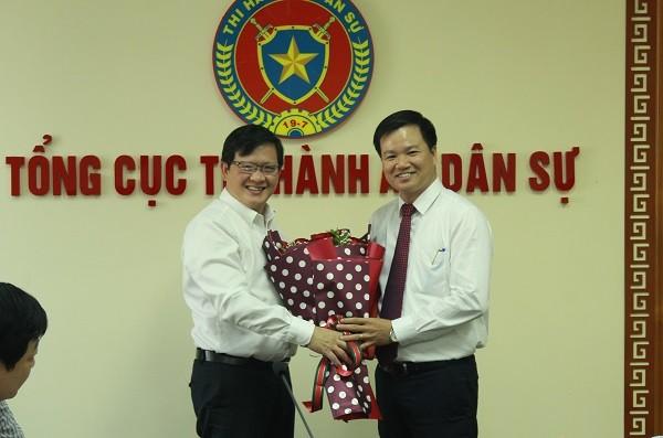 Tổng cục Thi hành án dân sự có Quyền Vụ trưởng Tổ chức cán bộ mới