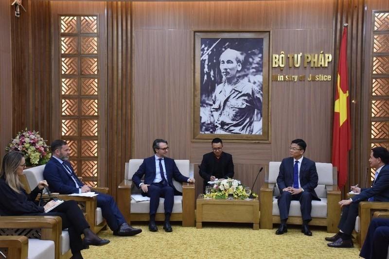 Tiếp tục mối quan hệ hợp tác tốt đẹp trong lĩnh vực pháp luật và tư pháp giữa Việt Nam - EU
