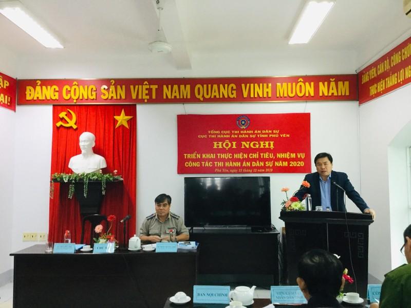 Thi hành án dân sự Phú Yên: Tập trung nâng cao tính kỷ luật kỷ cương