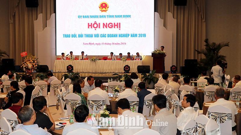 Nam Định: Chú trọng đối thoại, tháo gỡ khó khăn cho doanh nghiệp