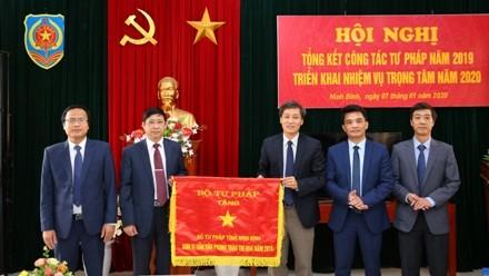 Thứ trưởng Nguyễn Khánh Ngọc dự hội nghị triển khai công tác tư  pháp năm 2020 tại Ninh Bình